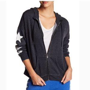 NWT Tommy Hilfiger Knit star sleeve hoodie size S